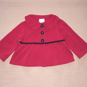 Hanna Andersson red and black jacket